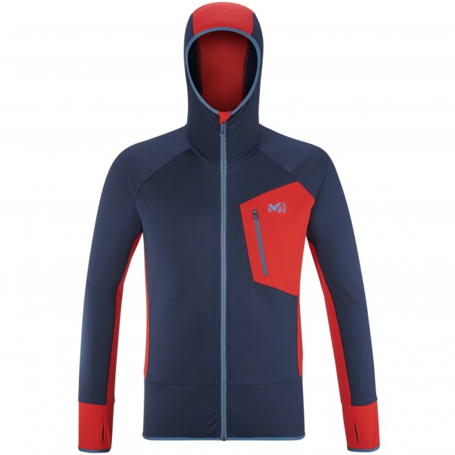 Polaire pour Homme - Bleu marine RUTOR THERMAL HOODIE M Millet