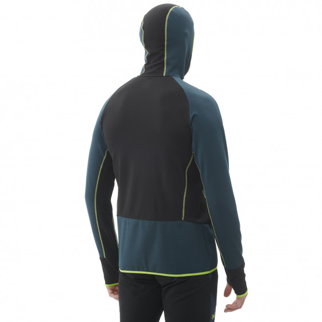 Micro polaire - homme - bleu marine RUTOR THERMAL HOODIE M  Millet 3