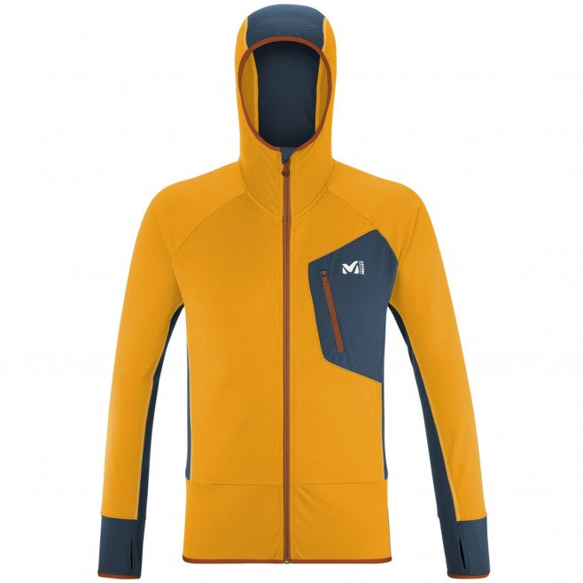 Polaire pour Homme - Orange RUTOR THERMAL HOODIE M Millet
