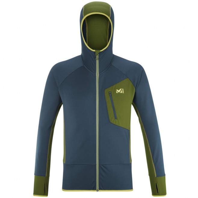 Polaire pour Homme - Bleu RUTOR THERMAL HOODIE M Millet