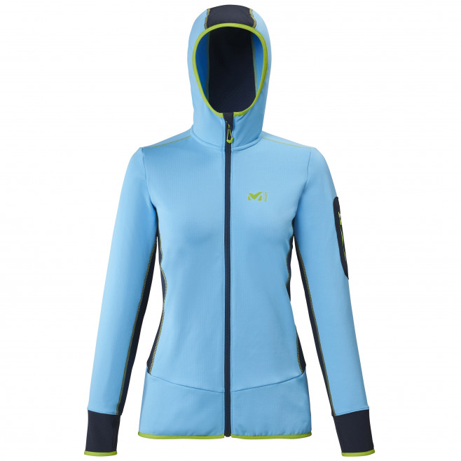 Micro polaire - femme - bleu RUTOR THERMAL HOODIE W  Millet