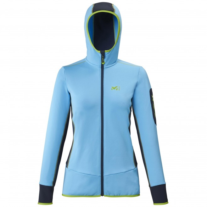 Polaire  - Femme - bleu RUTOR THERMAL HOODIE W  Millet