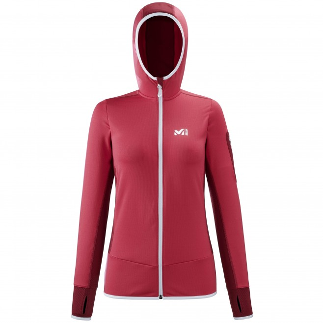 Polaire  - Femme - rouge RUTOR THERMAL HOODIE W  Millet