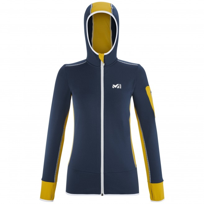 Polaire pour Femme - Bleu marine RUTOR THERMAL HOODIE W Millet