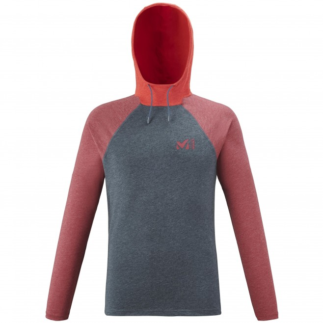 Teeshirt  - Homme  - bleu marine RED WALL LIGHT HOODIE M Millet