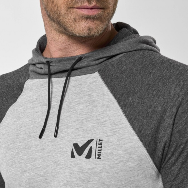 Chemise pour Homme - Gris RED WALL LIGHT HOODIE M Millet 4