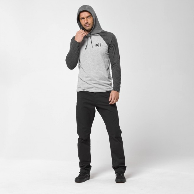 Chemise pour Homme - Gris RED WALL LIGHT HOODIE M Millet 5