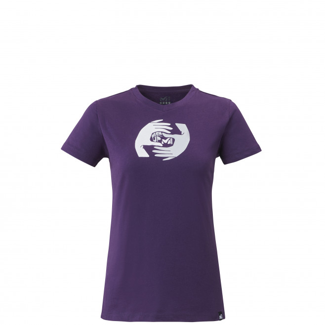 Tee-shirt manches courtes - femme - violet BIGGY TEE SS W Millet