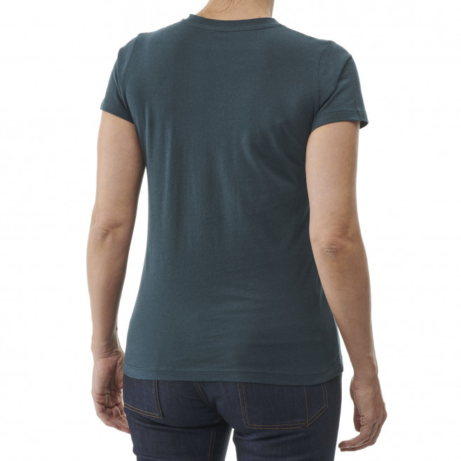 Tee-shirt manches courtes - femme - violet BIGGY TEE SS W Millet 2