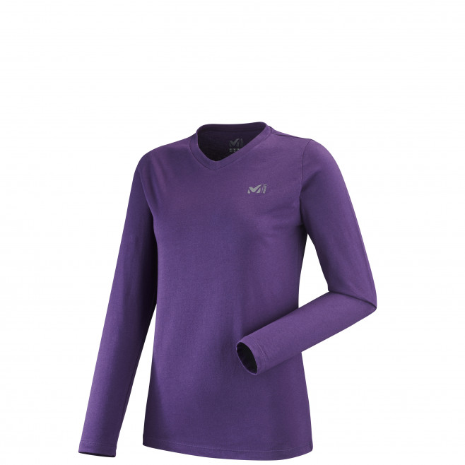 Tee-shirt manches longues - femme - violet WALL TEE LS W Millet