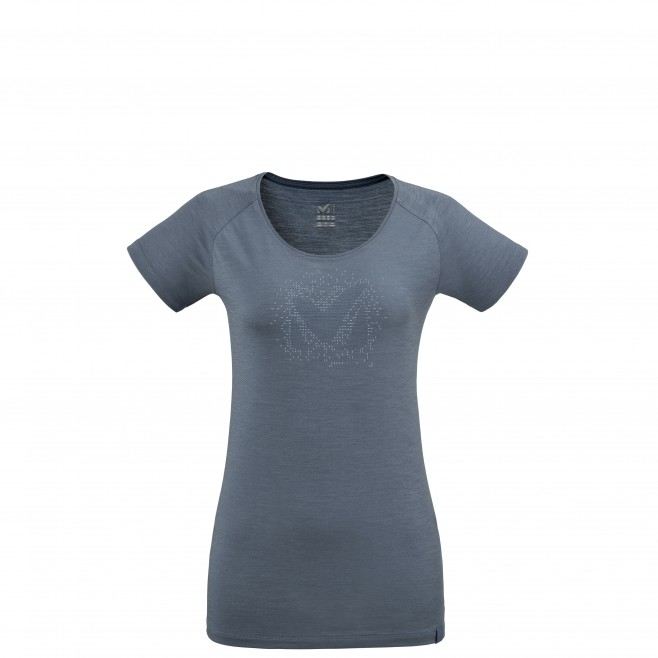 Tee-Shirt manches courtes - Femme - Gris DENSITY TS SS W Millet
