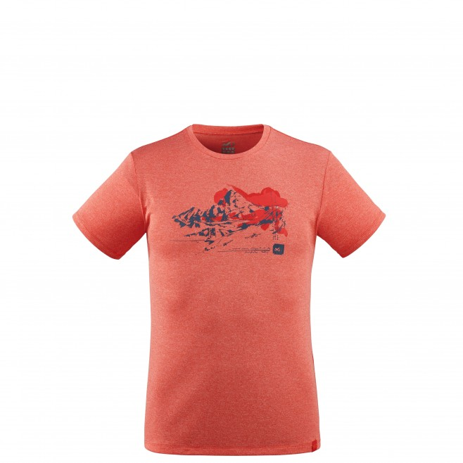 Tee-Shirt - Homme - rouge MOUNT SKETCH TS SS M Millet