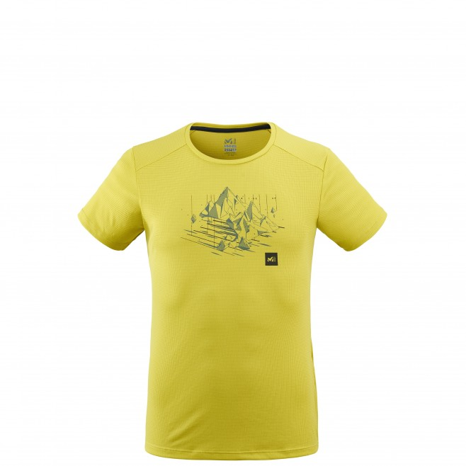 Tee-Shirt manches courtes - Homme - Vert BLACK MOUNTAIN TS SS M Millet