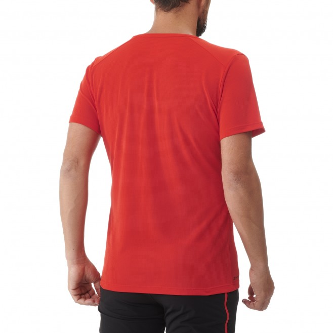 Tee-Shirt manches courtes - Homme - Rouge BLACK MOUNTAIN TS SS M Millet 3