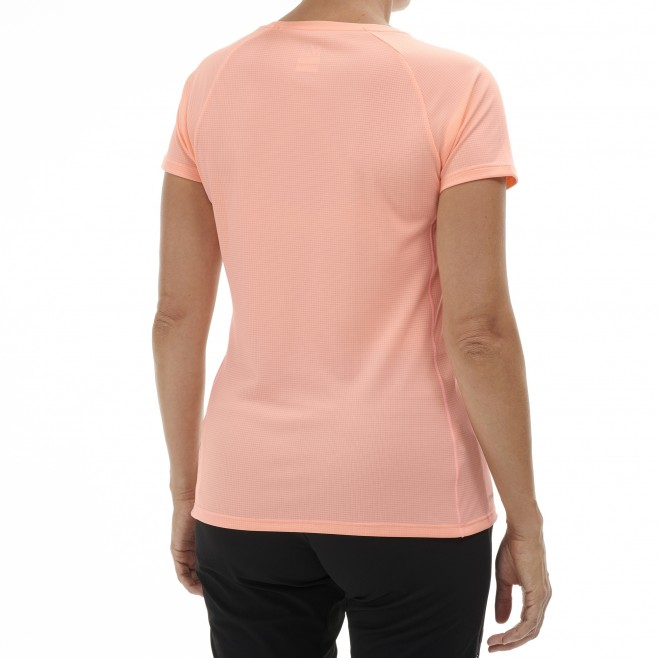 Tee-Shirt - Femme - rose WHITE MOUNTAIN TS SS W Millet 3