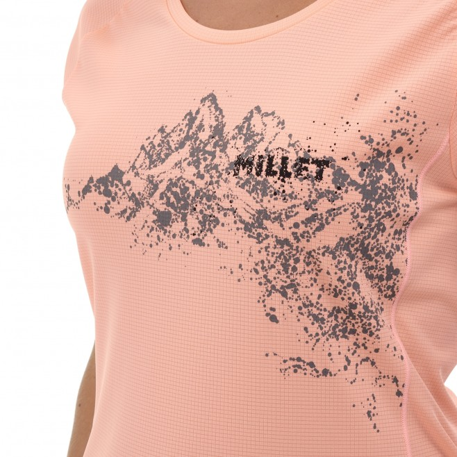 Tee-Shirt - Femme - rose WHITE MOUNTAIN TS SS W Millet 4
