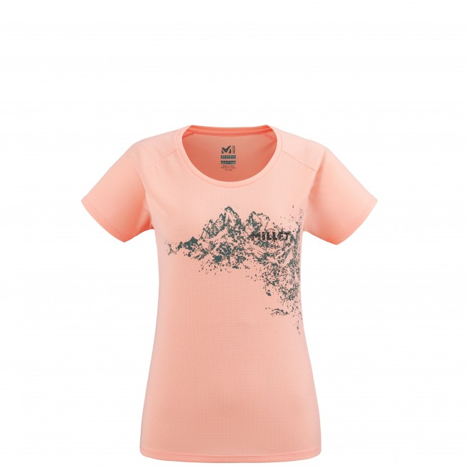 Tee-Shirt - Femme - rose WHITE MOUNTAIN TS SS W Millet