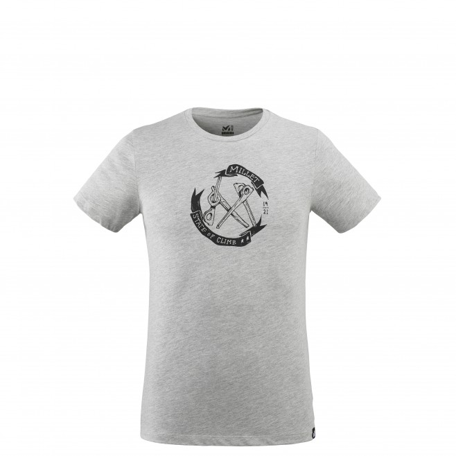 Tee-Shirt manches courtes - Homme - Gris OLD GEAR TS SS M Millet