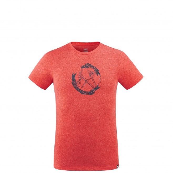 Tee-Shirt - Homme - rouge OLD GEAR TS SS M Millet