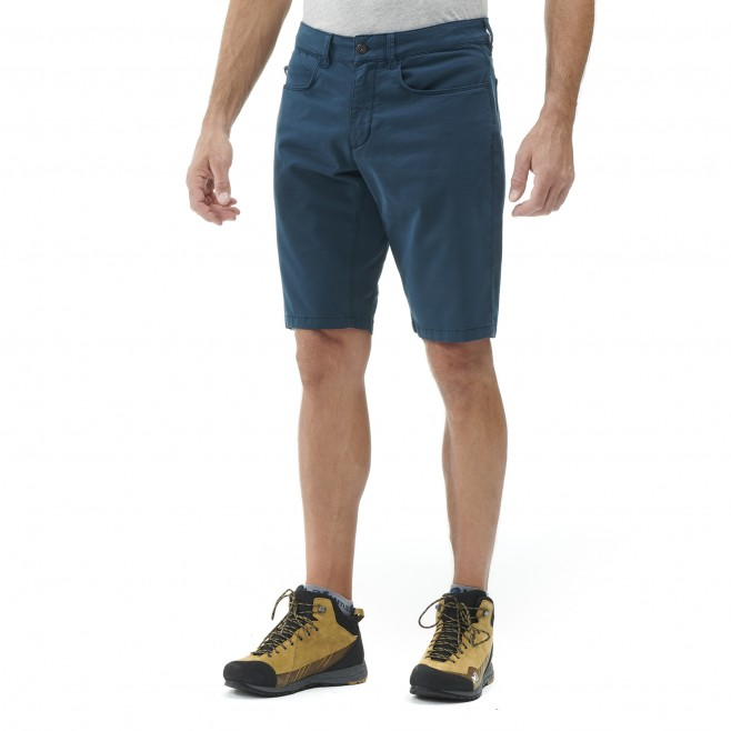 Short - Homme - bleu marine RED WALL STRETCH SHORT M Millet 2