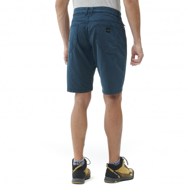 Short - Homme - bleu marine RED WALL STRETCH SHORT M Millet 3