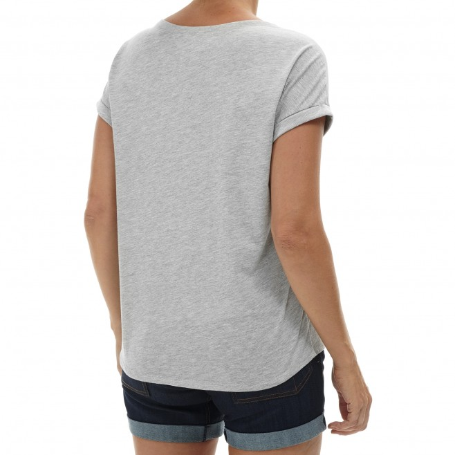 Tee-Shirt - Femme - gris ANGEL LIMITED TS SS W Millet 3