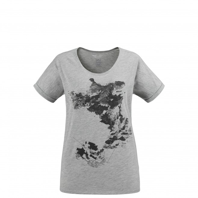 Tee-Shirt - Femme - gris ANGEL LIMITED TS SS W Millet