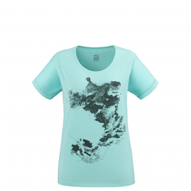 Tee-Shirt - Femme - turquoise ANGEL LIMITED TS SS W Millet