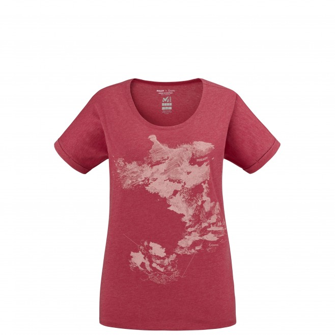 Tee-Shirt - Femme - rouge ANGEL LIMITED TS SS W Millet