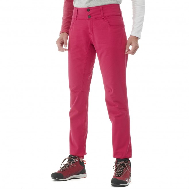 Pantalon  - Femme - rouge RED WALL STRETCH PANT W Millet 2