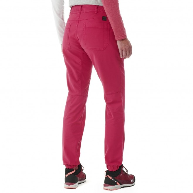 Pantalon  - Femme - rouge RED WALL STRETCH PANT W Millet 5
