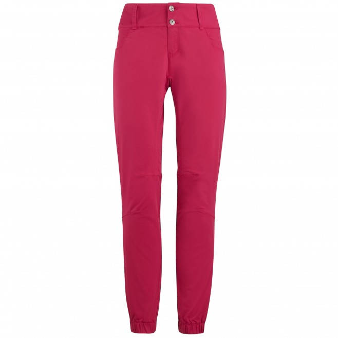Pantalon  - Femme - rouge RED WALL STRETCH PANT W Millet