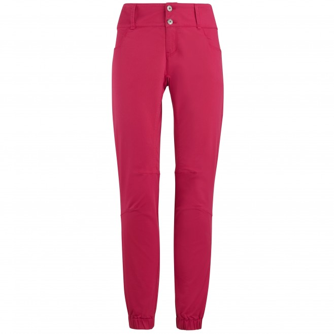Pantalon stretch - Femme - Rouge RED WALL STRETCH PANT W Millet