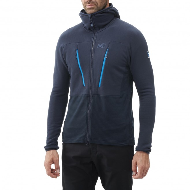 Polaire  - Homme  - bleu TRILOGY ULTIMATE WOOLPOWER HOODIE M Millet 2