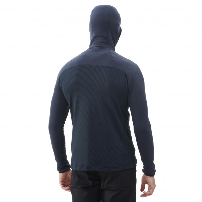 Polaire  - Homme  - bleu TRILOGY ULTIMATE WOOLPOWER HOODIE M Millet 3