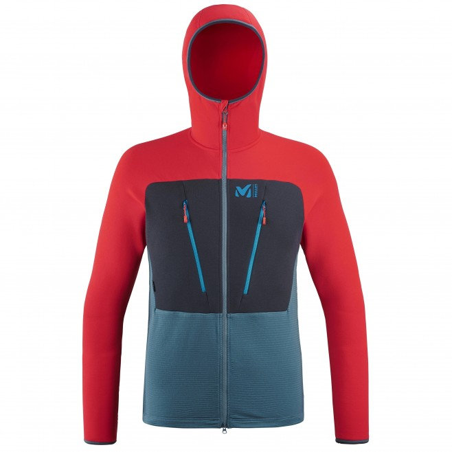 Polaire  - Homme  - bleu TRILOGY ULTIMATE WOOLPOWER HOODIE M Millet