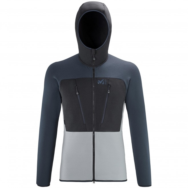 Polaire  - Homme  - gris TRILOGY ULTIMATE WOOLPOWER HOODIE M Millet