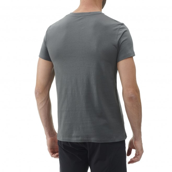 Tee-Shirt manches courtes - Homme - Kaki MILLET SQUARE TS SS M Millet 3