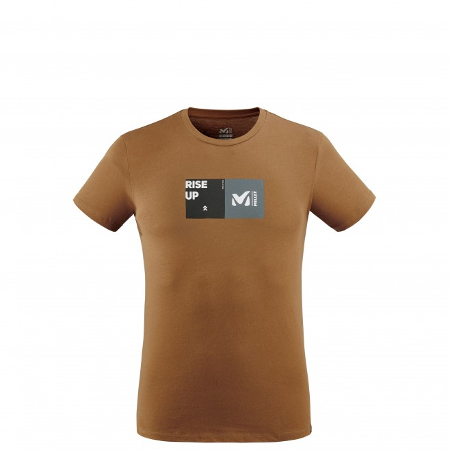 Tee-Shirt - Homme - marron MILLET SQUARE TS SS M Millet