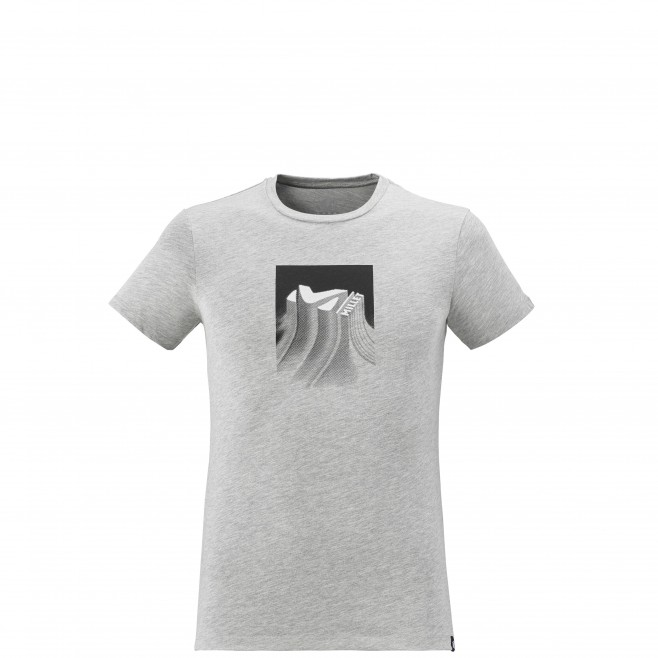 Teeshirt  - Homme  - gris RELIEF TS SS M Millet