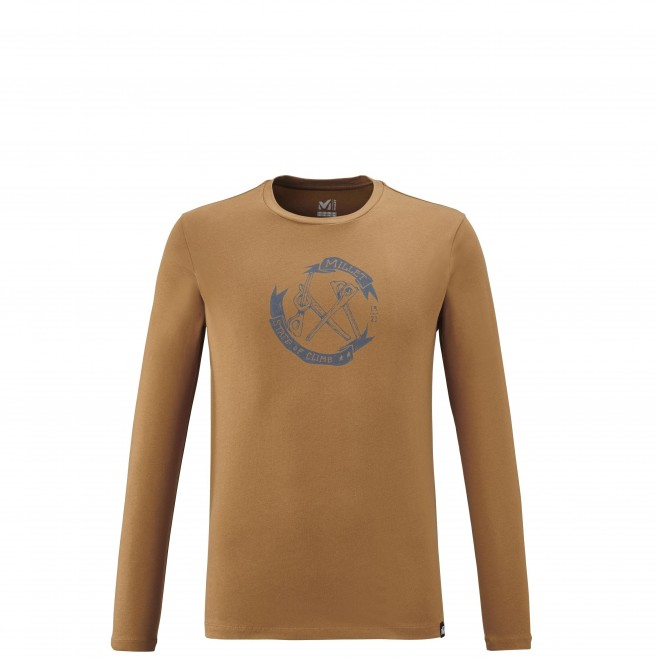 Teeshirt  - Homme  - marron OLD GEAR TS LS M Millet