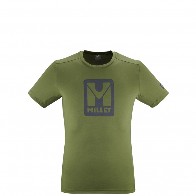 Tee-Shirt manches courtes - Homme - Kaki TRILOGY LOGO TS SS M Millet