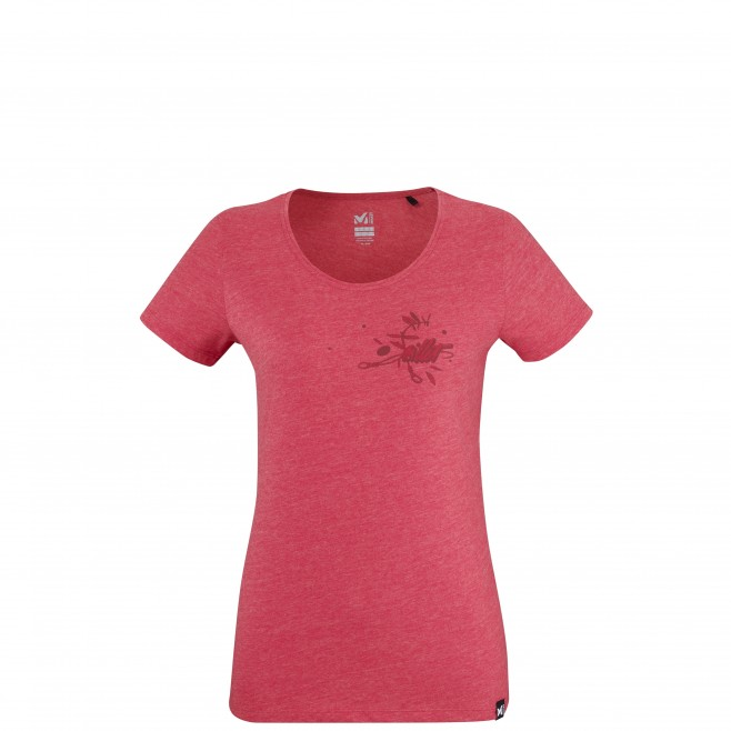 Tee-Shirt manches courtes - Femme - Rouge FOCUS TS SS W Millet