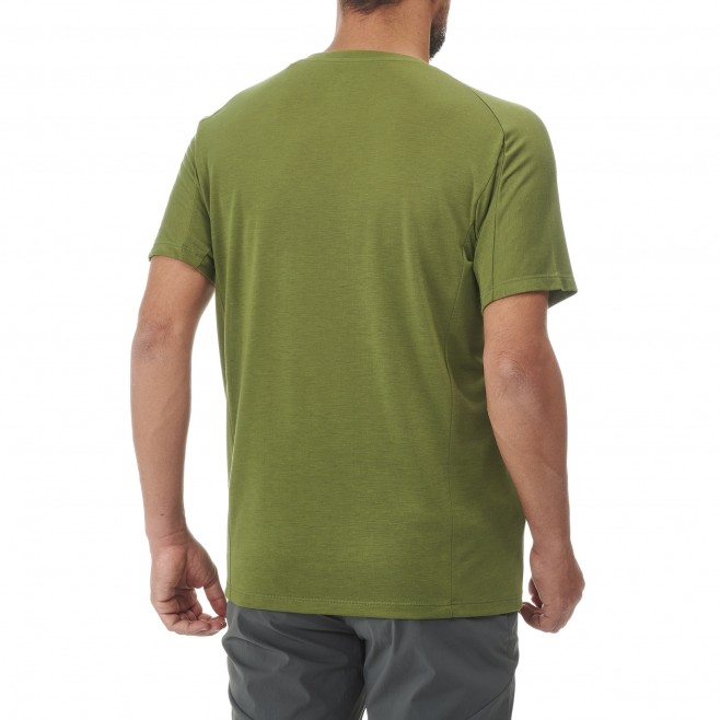 Tee-Shirt manches courtes - Homme - Kaki UNIT LYOCELL TS SS M Millet 3