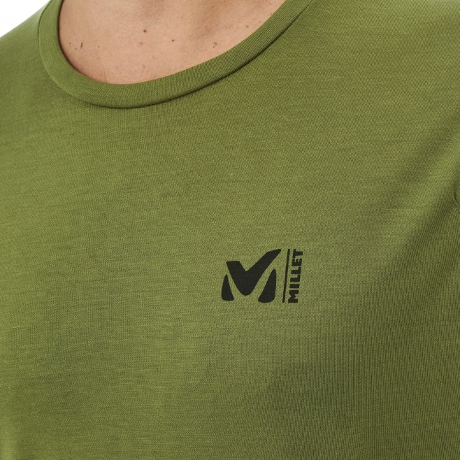 Tee-Shirt manches courtes - Homme - Kaki UNIT LYOCELL TS SS M Millet 4