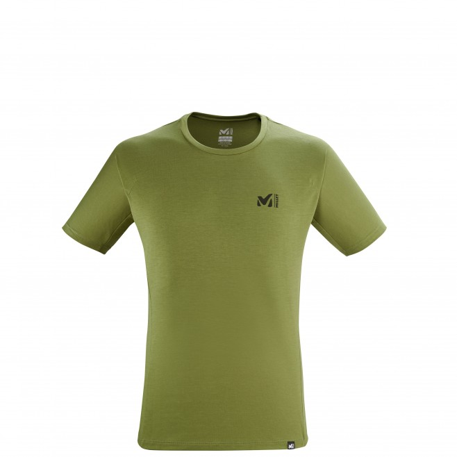 Tee-Shirt manches courtes - Homme - Kaki UNIT LYOCELL TS SS M Millet