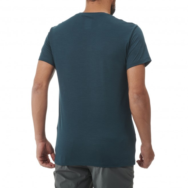 Tee-Shirt manches courtes - Homme - Gris PREDICT WOOL TS SS M Millet 3