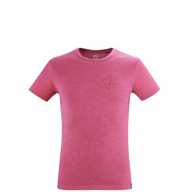 Tee-Shirt manches courtes - Homme - Rose LIMITED COLORS TS SS M Millet