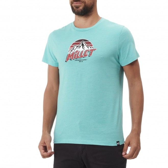 Tee-Shirt manches courtes - Homme - Bleu LIMITED COLORS TS SS M Millet 2