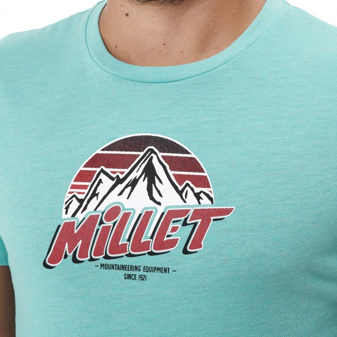 Tee-Shirt manches courtes - Homme - Bleu LIMITED COLORS TS SS M Millet 4